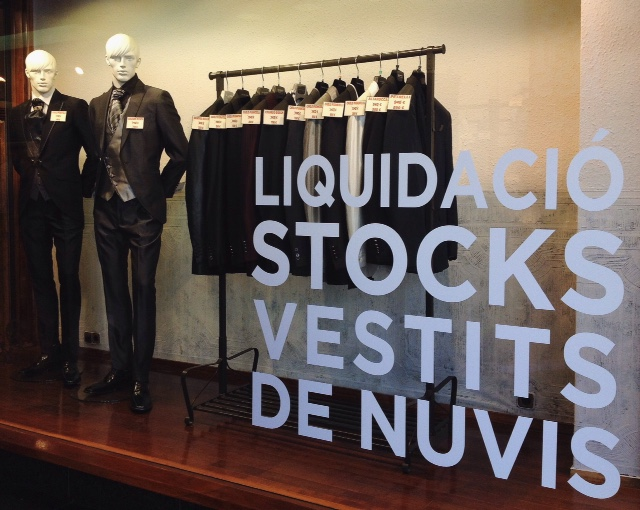 Liquidació Stocks Vestits de Nuvis