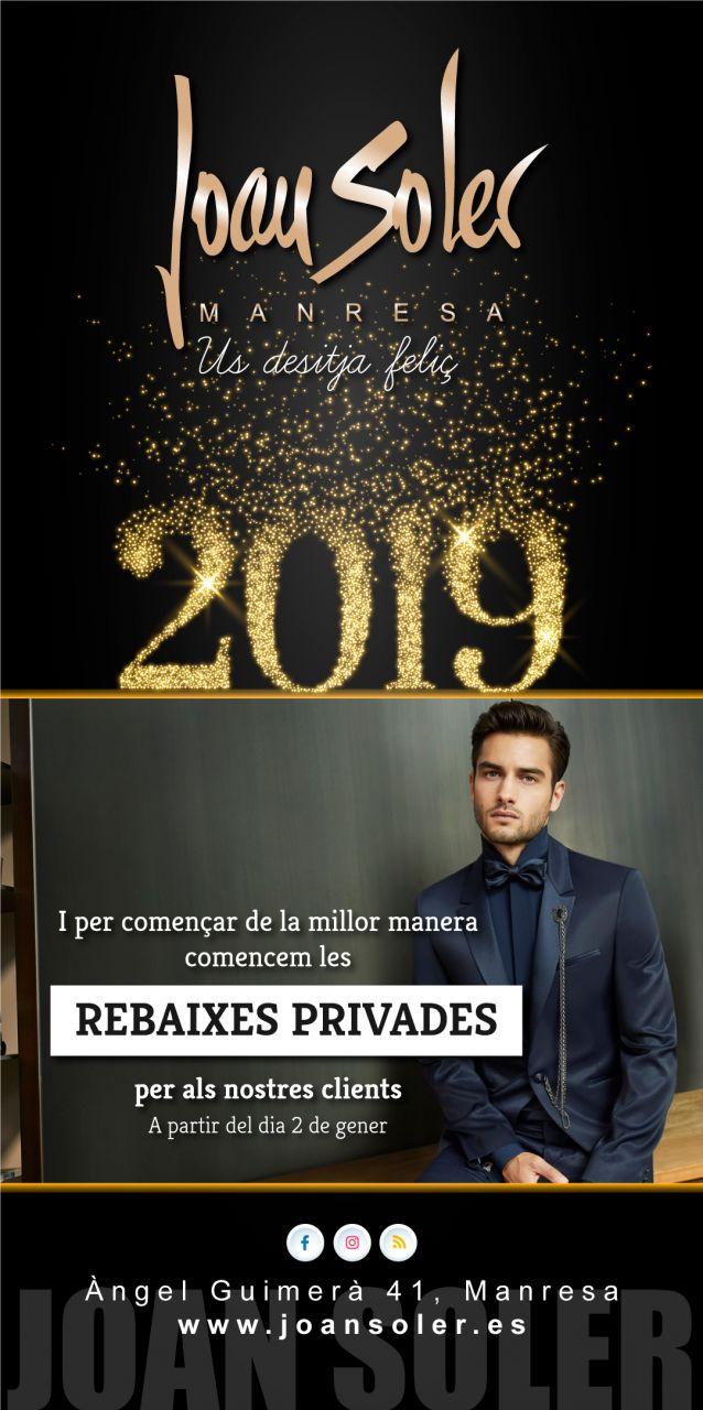 Comencem el 2019 amb les PRE-REBAIXES pels nostres clients